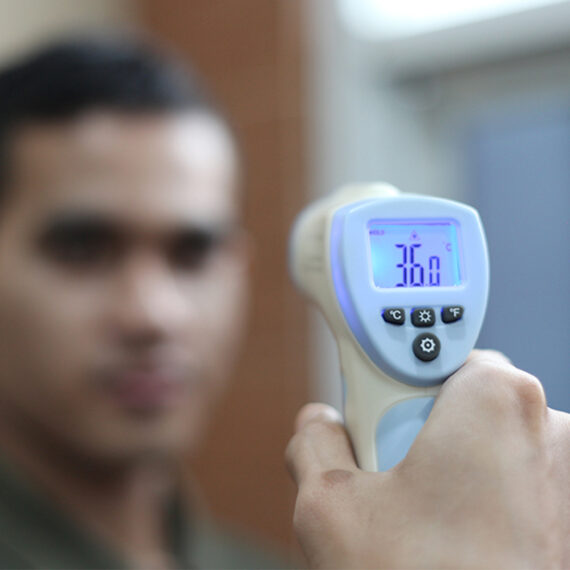 non contact infrared human body thermometer 4