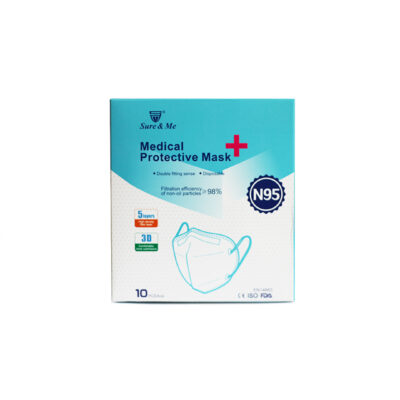 sure & me medical protective mask n95 1
