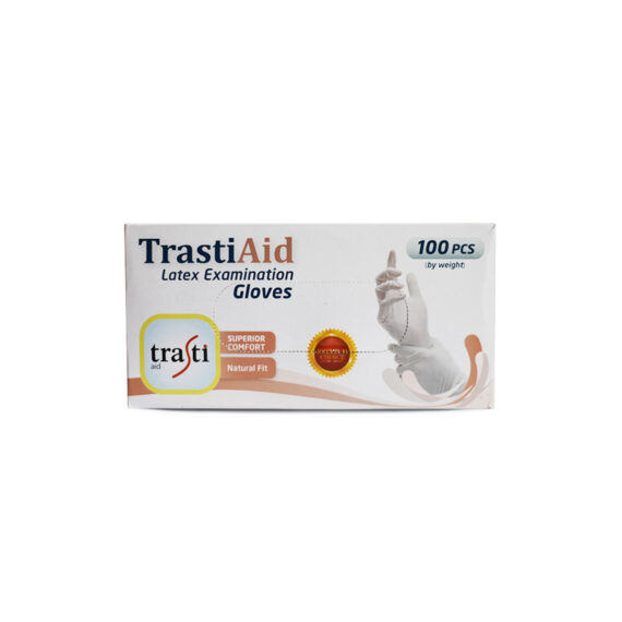 trastiaid latex examination gloves 1