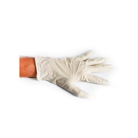 trastiaid latex examination gloves 5